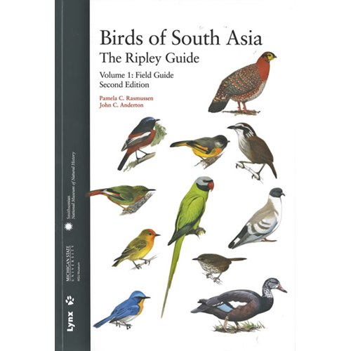 Birds of South Asia - The Ripley Guide - Del 1+2