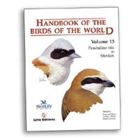 Handbook of the Birds of the World. HBW vol 13 (del Hoyo...)