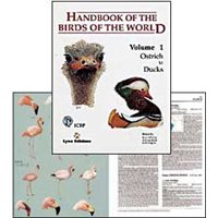 Handbook of the Birds of the World. HBW vol 1 (del Hoyo...)