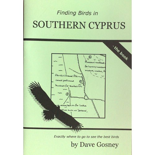 Finding Birds in Southern Cyprus - the Book (Gosney)