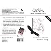 Finding Birds in Morocco: coast and mountains (Gosney) The Book