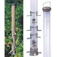 Seed Feeder in metal, 120 cm, 12 holes