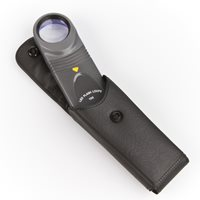 OPTICRON Magnifying glass with LED-light. 10x 26mm