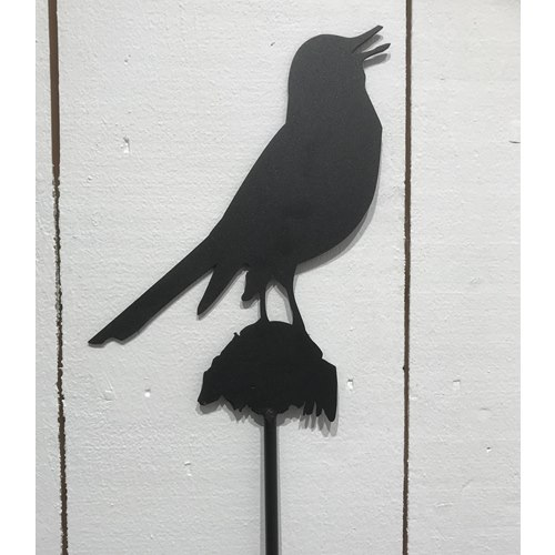 Wrought Iron Blackbird