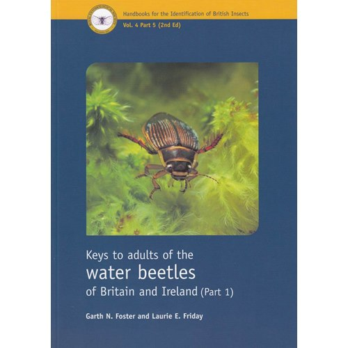 Keys to adults of the water beetles of Britain & Ireland, Part 1 (Foster)