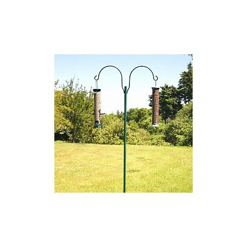Seed feeder hook - Double in Green