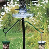 Seed feeder hook - Simple in black