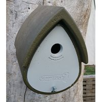 Nestbox Birdhome Woodcrete for tits 1MR Green
