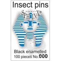 Insect Pins Black No 000