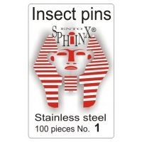 Insect Pins Steel No 1