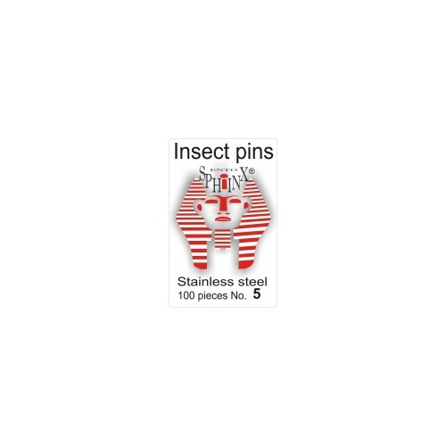 Insect Pins Steel No 5