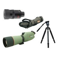 KOWA TSN-663M 20-60x Spotting Scope Kit