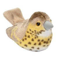 Singing Soft toys - Song Thrush